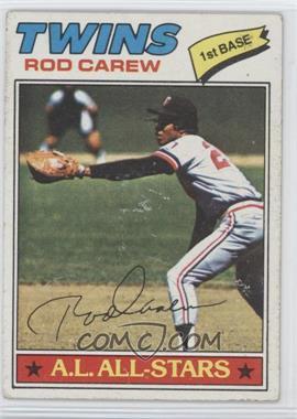1977 Topps - [Base] #120 - Rod Carew