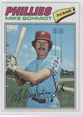 1977 Topps - [Base] #140 - Mike Schmidt