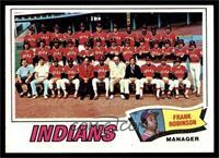 Cleveland Indians Team, Frank Robinson [EXMT]