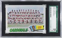 St. Louis Cardinals Team Checklist (Vern Rapp) [SGC96]