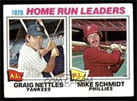 1976 Home Run Leaders(Graig Nettles, Mike Schmidt) [VG]