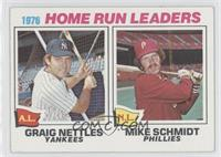1976 Home Run Leaders(Graig Nettles, Mike Schmidt)