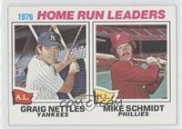 1976 Home Run Leaders - Graig Nettles, Mike Schmidt