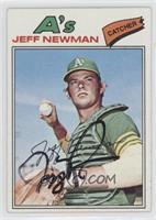 Jeff Newman [JSACertifiedCOASticker]
