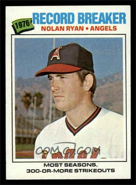 1977 Topps - [Base] #234 - Nolan Ryan [NM]
