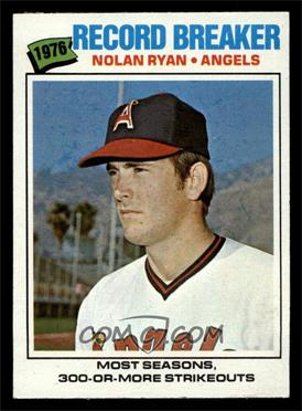 1977 Topps - [Base] #234 - Nolan Ryan [NM]