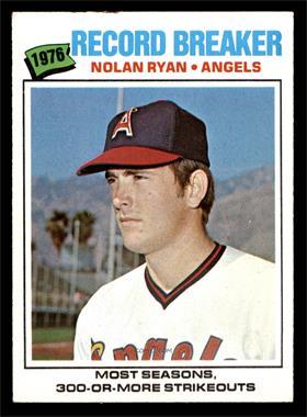 1977 Topps - [Base] #234 - Nolan Ryan [EX]