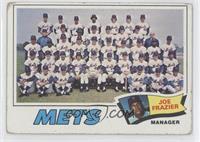 New York Mets Team, Joe Frazier [GoodtoVG‑EX]
