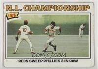 N.L. Championship: Reds Sweep Phillies 3 In Row (Pete Rose) [Good to …