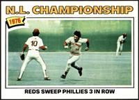 N.L. Championship: Reds Sweep Phillies 3 In Row [EXMT]