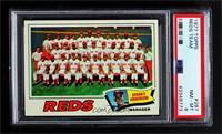 Cincinnati Reds Team, Sparky Anderson [PSA8NM‑MT]