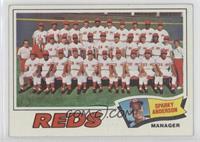 Cincinnati Reds Team, Sparky Anderson