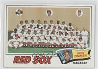 Boston Red Sox Team Checklist (Don Zimmer)