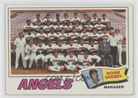 Los Angeles Angels Team, Norm Sherry [PoortoFair]