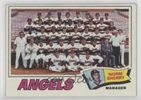 Los Angeles Angels Team, Norm Sherry