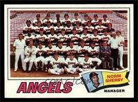 Los Angeles Angels Team, Norm Sherry [NM MT]
