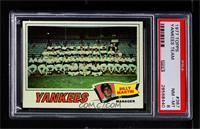 New York Yankees Team, Billy Martin [PSA8NM‑MT]