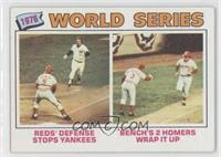 1976 World Series (Johnny Bench) [Good to VG‑EX]