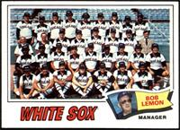 Chicago White Sox Team (Bob Lemon) [NM]