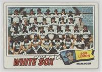 Chicago White Sox Team (Bob Lemon) [Poor to Fair]
