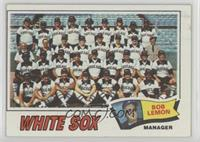 Chicago White Sox Team (Bob Lemon)