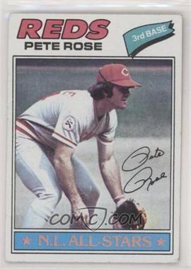 1977 Topps - [Base] #450 - Pete Rose [Good to VG‑EX]