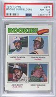 Rookie Outfielders (Andre Dawson, Gene Richards, John Scott, Denny Walling) [PS…