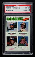 Rookie Outfielders (Andre Dawson, Gene Richards, John Scott, Denny Walling) [PS…