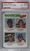 Rookies (Gary Alexander, Rick Cerone, Dale Murphy, Kevin Pasley) [PSA8&nb…