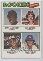 Rookies (Gary Alexander, Rick Cerone, Dale Murphy, Kevin Pasley) [Poor to&…
