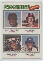 Rookies (Gary Alexander, Rick Cerone, Dale Murphy, Kevin Pasley) [Goodto&…