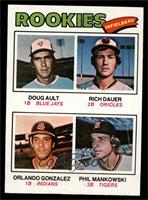 Doug Ault, Rich Dauer, Orlando Gonzalez, Phil Mankowski [NM]
