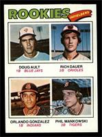 Doug Ault, Rich Dauer, Orlando Gonzalez, Phil Mankowski [EXMT]