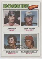 Jim Gideon, Leon Hooten, Dave Johnson, Mark Lemongello