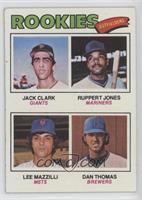 Jack Clark, Ruppert Jones, Dan Thomas, Lee Mazzilli