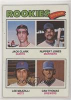 Jack Clark, Ruppert Jones, Dan Thomas, Lee Mazzilli [EXtoNM]
