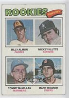 Bill Almon, Mickey Klutts, Tom McMillan, Mark Wagner [Good to VG&#820…