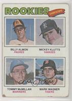 Bill Almon, Mickey Klutts, Tom McMillan, Mark Wagner [Poor]