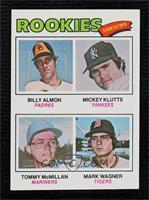 Bill Almon, Mickey Klutts, Tom McMillan, Mark Wagner [NearMint‑Mint]