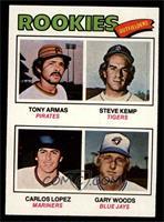Tony Armas, Steve Kemp, Carlos Lopez, Gary Woods [NM]