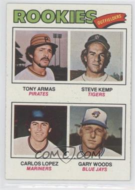 1977 Topps - [Base] #492 - Tony Armas, Steve Kemp, Carlos Lopez, Gary Woods