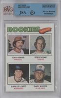 Tony Armas, Steve Kemp, Carlos Lopez, Gary Woods [BVG/JSACertifiedA…