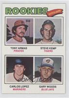 Tony Armas, Steve Kemp, Carlos Lopez, Gary Woods