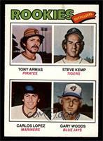 Tony Armas, Steve Kemp, Carlos Lopez, Gary Woods [EX]