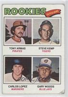Tony Armas, Steve Kemp, Carlos Lopez, Gary Woods [GoodtoVG‑EX]