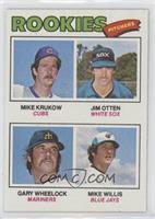 Mike Krukow, Jim Otten, Gary Wheelock, Mike Willis