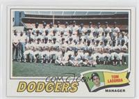 Los Angeles Dodgers Team, Tommy Lasorda