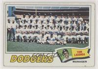 Los Angeles Dodgers Team, Tommy Lasorda [PoortoFair]