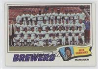 Milwaukee Brewers Team Checklist (Alex Grammas)