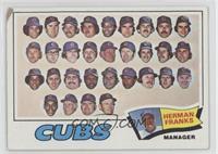Chicago Cubs Team, Herman Franks [Poor]